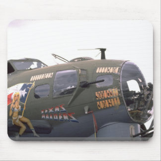 B-17 nose art mousepads