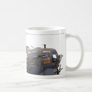 B-17 nose art coffee mug