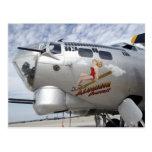 B-17 Nose Art Post Card