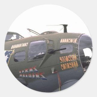 B-17 nose art stickers
