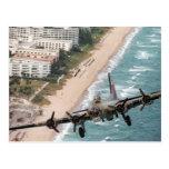 B-17 Off Florida Coast postcard