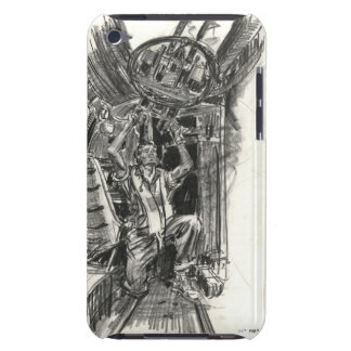 B-17 Radio Gunner 1942 Barely There iPod Covers