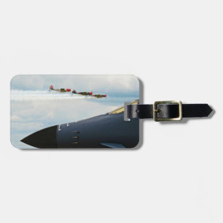 B-1 Bomber and WWII Fighters Luggage Tag