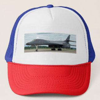 B-1B Lancer Bomber on Ground Trucker Hat
