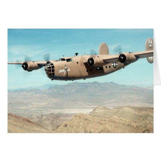 B-24 Liberator Greeting Card