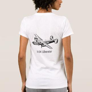 B-24 Liberator Nose Art T-Shirt