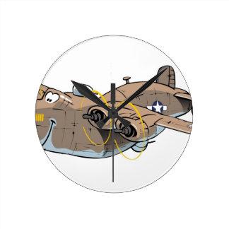 B-24 Liberator Round Clock
