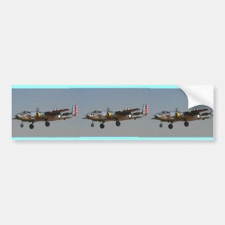 B-25 BOMBER CAR BUMPER STICKER