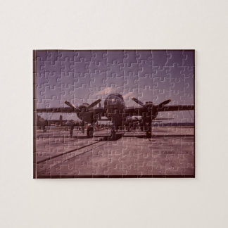 B-25 Bomber Jigsaw Puzzle