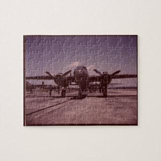 B-25 Bomber Puzzle