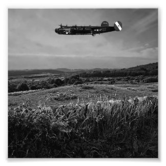 B-25 Mitchell Art Photo