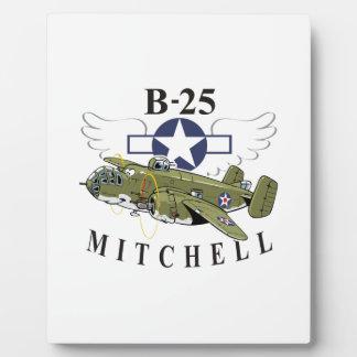 B-25 Mitchell Plaque