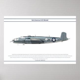 B-25 US Marine Corps Print