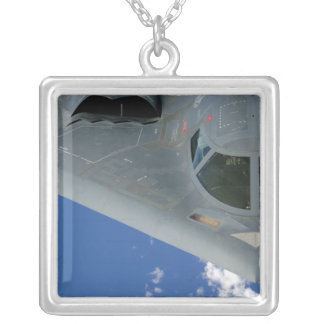 B-2 Spirit Silver Plated Necklace
