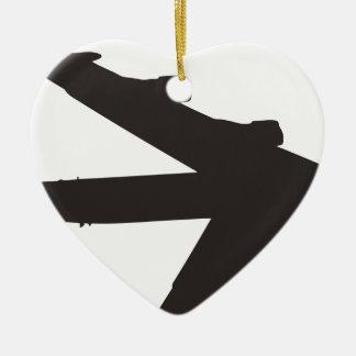 B-52 Bomber Christmas Ornament