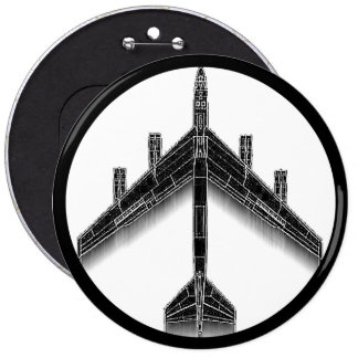 B-52 Peace Button