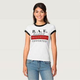 B.A.E. Beautiful Anointed Educated (Christian) T-Shirt