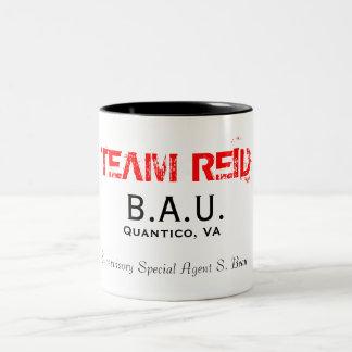 B A U Quantico VA Supervisory Special Agent Coffee Mugs