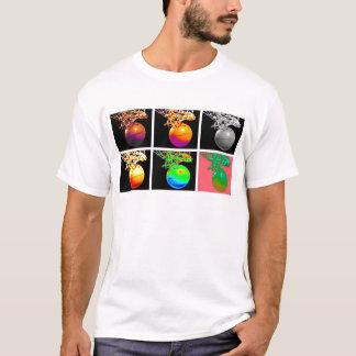 B-Ball Basketball Hoops Pop Art T-Shirt