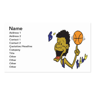 B Ball Pack Of Standard Business Cards