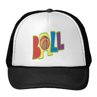 B Ball Hats