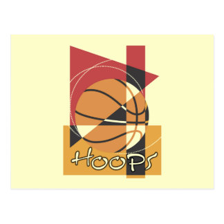 B-Ball Hoops T-shirts and Gifts Postcard