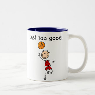 B-Ball Just Too Good Two-Tone Mug