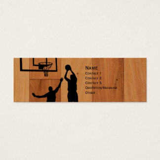 B-ball Mini Business Card