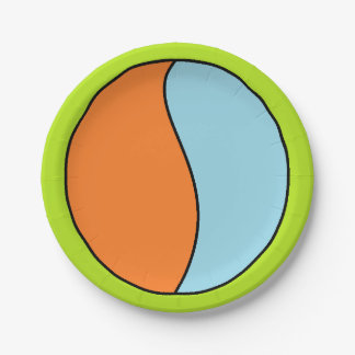 B. Ball paper plate