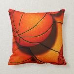 B ball pillow