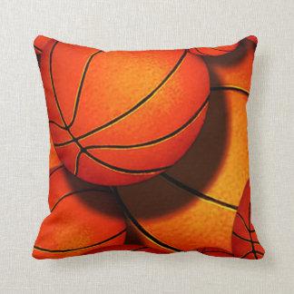 B ball pillow throw cushion