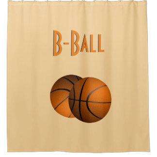 B-Ball Sport Shower Curtain