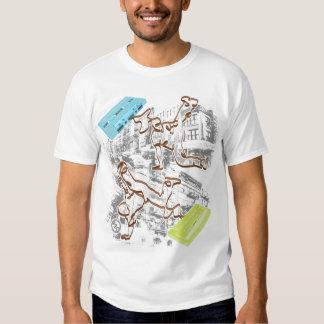 B-boy Cassette Battle (gray) T Shirts