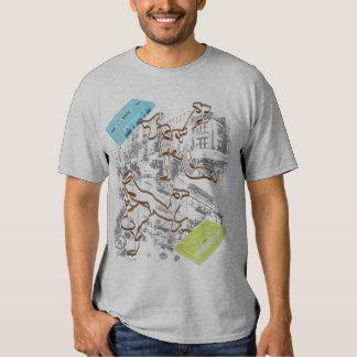 B-boy Cassette Battle (grey) Shirts