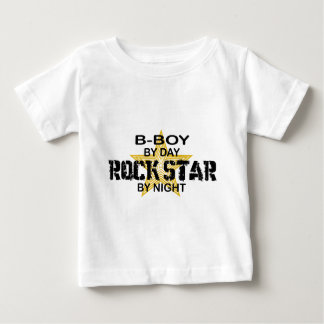 B-Boy Rock Star by Night Baby T-Shirt
