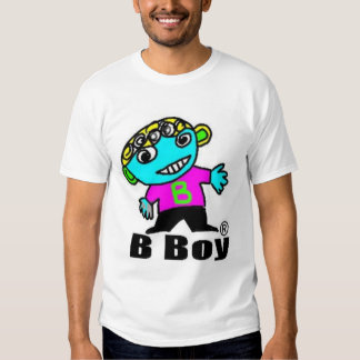 B Boy T-skirt T Shirt
