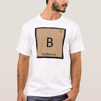 B - Butternut Squash Chemistry Periodic Table T-Shirt