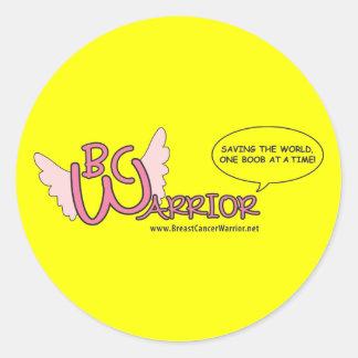 B C WARRIOR Sticker