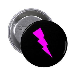 B. Chic: Pink Lightning 6 Cm Round Badge