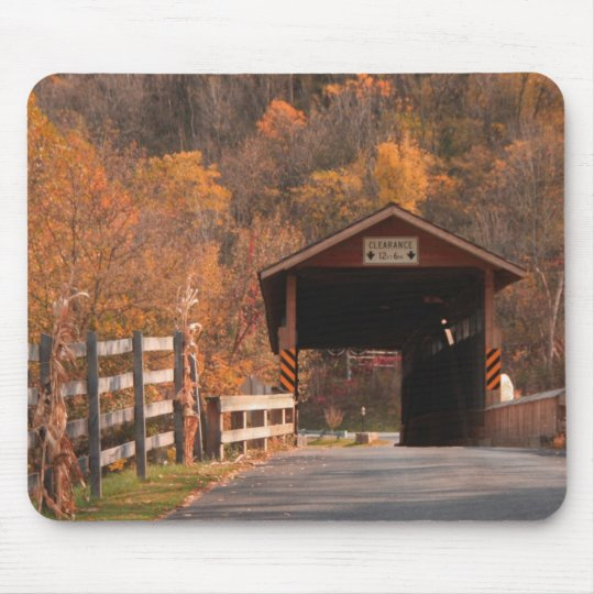 B\Covered bridge, Bedford, Pa. Mouse Mat
