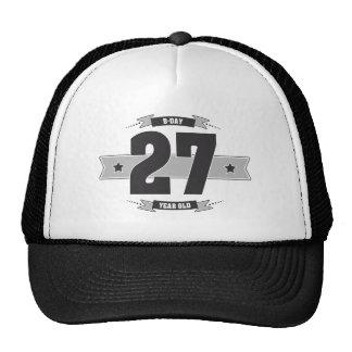 B-day 27 (Dark&Lightgrey) Cap