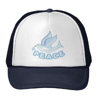 B - Dove of Peace Trucker Hats