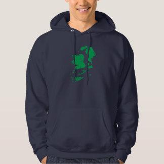 B eire Skate Ireland logo hood Hoodie