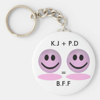 B.F.F Custom Keychain