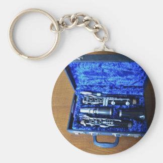 B Flat Clarinet Keychains
