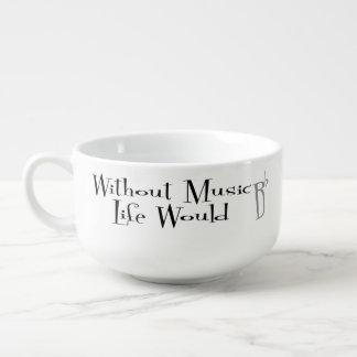B Flat Soup Mug
