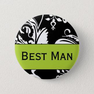 B&G Best Man Button