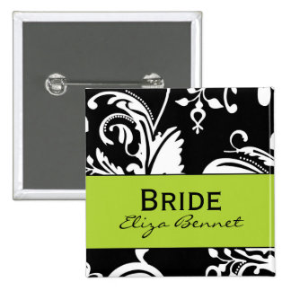 B&G Square Bride Button