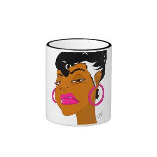 B Girl Ringer Mug