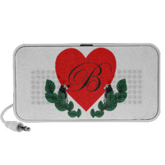 B in a heart travel speakers